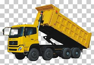 Ford Cargo Dump Truck Six-wheel Drive PNG