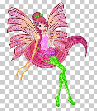 Sirenix Bloom Roxy Tecna Fashion PNG