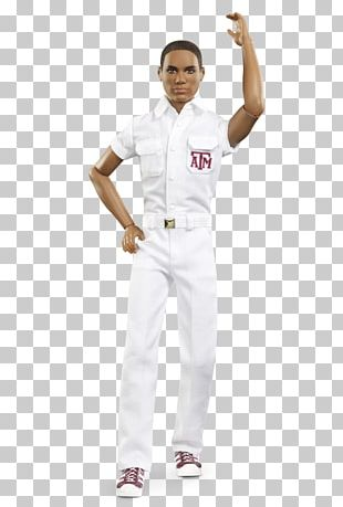 Texas A&M University Ken Barbie Doll Aggie Yell Leaders PNG