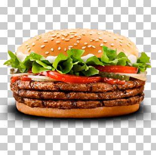 Whopper Hamburger Cheeseburger Fast Food Burger King PNG