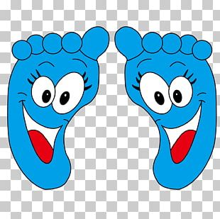 Cartoon Animation Foot PNG