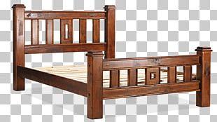 Bed Frame Wood Stain Hardwood PNG