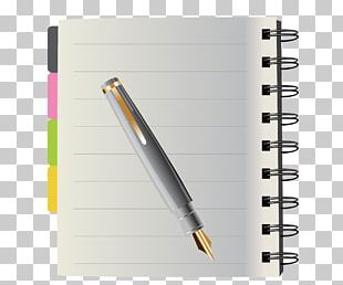Notebook Pen Stationery PNG