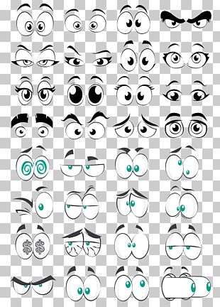 Cartoon Eye Comics PNG