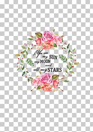 Flower Quotation Love Petal Floral Design PNG