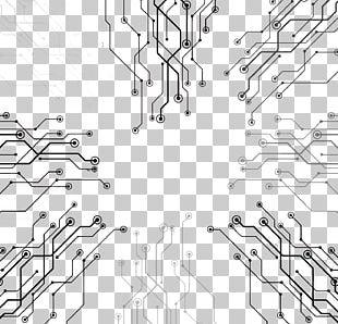 Technology High Tech Line Euclidean PNG