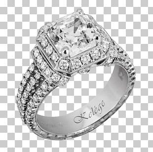 Diamond Wedding Ring Engagement Ring Jewellery PNG