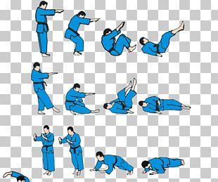Judo Fallschule Throw Uke Martial Arts PNG