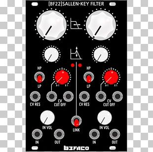 Sallen–Key Topology Korg MS-20 Voltage-controlled Filter Low-pass Filter Doepfer A-100 PNG