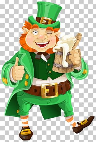 Beer Saint Patrick's Day Leprechaun PNG