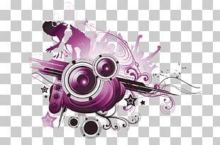 Graphic Design Music Illustration PNG