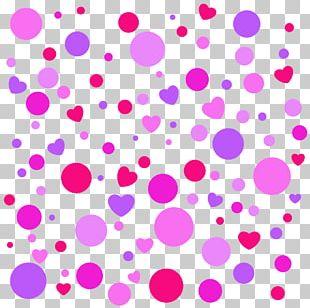 Towel Polka Dot Color Purple Pattern PNG