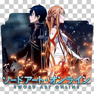 Asuna Kirito Sword Art Online 1: Aincrad Anime PNG