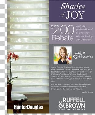 Window Covering Curtain Brochure PNG