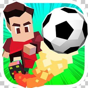 Retro Soccer PNG