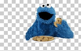Cookie Monster Chocolate Chip Cookie Biscuits Cracker Elmo PNG