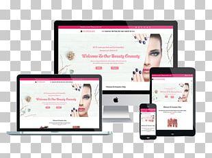 Responsive Web Design WordPress Website Wireframe Mobile Phones Mockup PNG