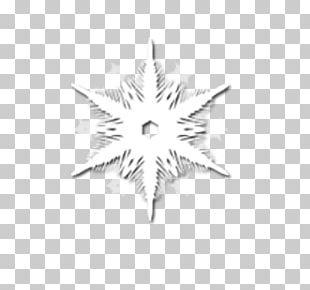 White Snowflake Computer File PNG