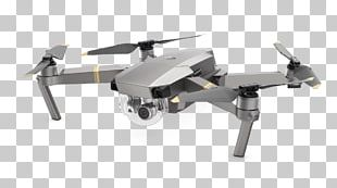 Mavic Pro Aircraft Unmanned Aerial Vehicle DJI Quadcopter PNG