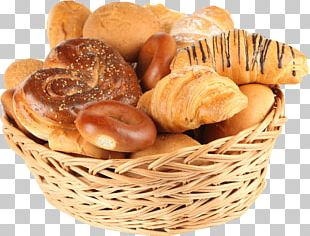 The Basket Of Bread Bakery PNG