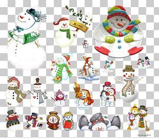 Ded Moroz Snowman Christmas Decoration PNG
