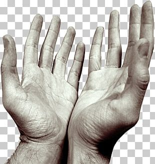 Hands Praying Open PNG