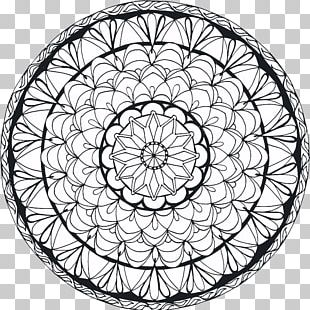 Mandala Drawing Symbol PNG