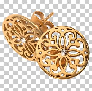 Earring Gold Plating Jewellery PNG