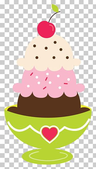 Ice Cream Cones Sundae Chocolate Cake PNG