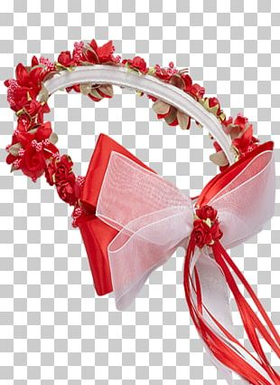 Clothing Accessories Flower Ribbon Wreath Headband PNG