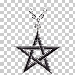 Pentagram Charms & Pendants Necklace Pentacle Jewellery PNG