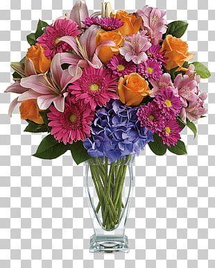 Cut Flowers Floristry Flower Bouquet Teleflora PNG