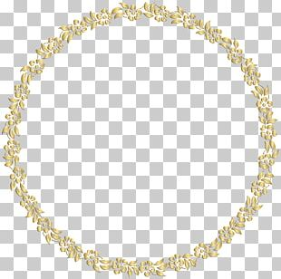 Frame Gold Mirror PNG