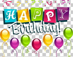 Happy Birthday To You Party PNG