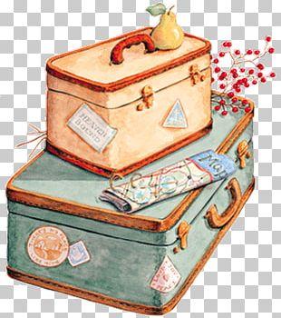 Suitcase Baggage Travel Bag Tag PNG