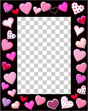 Valentine's Day SMS Heart Gift PNG