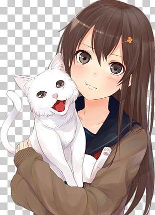 Cat Anime Drawing Kavaii Manga PNG