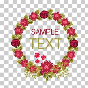 Wreath Garden Roses Essential Oil Manicure Flower PNG