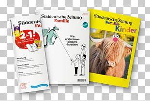 Magazine Child Exercise Book Süddeutsche Zeitung Family PNG