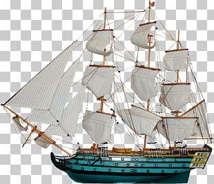 Sailing Ship Paper Boat Columbus Day PNG