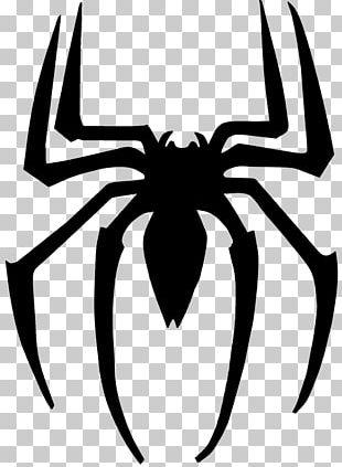 Spider-Man Venom Logo Superhero PNG