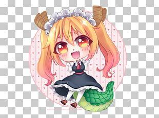 Anime Mangaka Chibi PNG