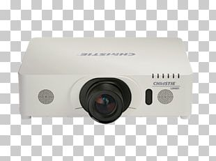 Multimedia Projectors Christie 3LCD Wide XGA PNG