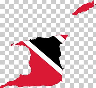 Flag Of Trinidad And Tobago Port Of Spain Map PNG