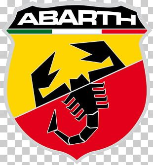 Abarth 595 Car Fiat Punto Logo PNG