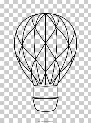 Flight Hot Air Balloon Drawing Air Transportation PNG