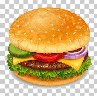 Hamburger Soft Drink Coca-Cola Beer Fast Food PNG