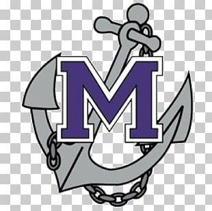 Logo Marinette High School Anchors Aweigh Marinette Marine PNG
