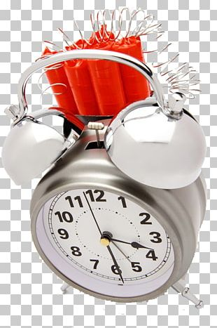 Alarm Clock Time Bomb Stock Photography PNG