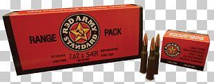 Ammunition Full Metal Jacket Bullet 7.62×54mmR Firearm 7.62×39mm PNG